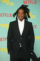 LOS ANGELES, CA - OCTOBER 13: Jay-Z at the Special Screening Of The Harder They Fall at The Shrine in Los Angeles, California on October 13, 2021. Credit: Faye Sadou/MediaPunch