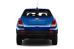 Straight rear view of 2016 Chevrolet Trax LS 5 Door SUV Rear View  stock images
