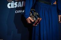 Maribna FoÔs ‡ la 42e CÈrÈmonie des CÈsars ‡ l'arrivÈe sur le tapis rouge de la salle Pleyel ‡ Paris le 24 fÈvrier 2017