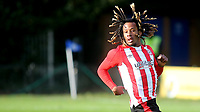 Wraynel Hercules of Brentford during Watford Under-23 vs Brentford B, Friendly Match Football at Clarence Park on 24th November 2020