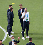 22.06.2021 Croatia v Scotland: Scotland players walkabout on the pitch pre-match: Lyndon Dykes