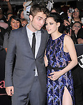 Robert Pattinson and Kristen Stewart  attends The Los Angeles premiere of Summit Entertainment's THE TWILIGHT SAGA: BREAKING DAWN PART 1 HELD AT Nokia Theatre at L.A. Live in Los Angeles, California on November 14,2011                                                                               © 2010 DVS / Hollywood Press Agency