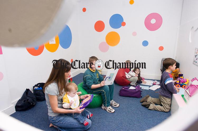 Take Thirty Kilrush Road Ennis.Pic Arthur Ellis. Childrens play area