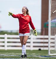 St. Mary's Academy goalie at Wildcat Stadium, Springdale, Arkansas, Friday, May 14, 2021 / Special to NWA Democrat-Gazette/ David Beach