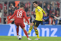 FC Bayern Muenchen vs. Borussia Dortmund Only rarely could Mats Hummels Borussia Dortmund prevail against his opponent like in this leg shot against Leon Goretzka FC Bayern Muenchen FC Bayern Muenchen vs. Borussia Dortmund, football, 1 Bundesliga, 11 Spieltag 2019 2020, 09 11 20191  , 2 Fussball Bundesliga, 13 Spieltag Copyright: xBEAUTIFULxSPORTS/VolkerxMartinx/Imago/Insidefoto