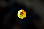 Mutua Madrid Open Tennis ball during the Mutua Madrid Open Masters match on day eight at Caja Magica in Madrid, Spain.May 11, 2019. (ALTERPHOTOS/A. Perez Meca)