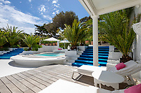 BNPS.co.uk (01202 558833)<br /> Pic: CapVillas/BNPS<br /> <br /> The house on the market for £9m<br />  <br /> A glamorous villa that has hosted a string of celebrities including Winston Churchill, Pablo Picasso, the Duke of Windsor and Edith Piaf is on the market for £9m (10.5m euros).<br /> <br /> The exquisite Villa La Garoupe Beach sits on a natural sand beach and has its own private beach on one of the French Riviera's most exclusive spots.<br /> <br /> It was once a renowned beach club and the list of names connected to the property are endless. French singer Edith Piaf hosted her engagement party to Theo Sarapo there and it was also visited by former US President Harry Truman, writer Ernest Hemingway, Bond actor Sean Connery and movie star Marlene Dietrich.<br /> <br /> The property in Cap d'Antibes has four bedrooms suitable for six to eight people, three bathrooms and a living area overlooking the sea.