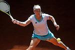 Svetlana Kuznetsova, Russia, during Madrid Open Tennis 2015 match.May, 7, 2015.(ALTERPHOTOS/Acero)