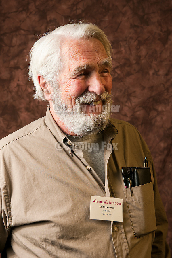 """Bob Goodman, former MC and presenter at Shooting the West XXIII photo symposium, Winnemucca, Nev. """"The Nevada Photography Experience"""""""