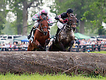 22 May 2011.   Humdinger and jockey Christpher Read win the Jay Trump Timber, Maiden Special Weight going Three and One Eighth Miles.