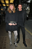 """Kirsty Bell and Ben Charles Edwards at the 65th BFI London Film Festival """"Quant"""" world premiere, Curzon Mayfair, Curzon Street, on Saturday 09th October 2021, in London, England, UK. <br /> CAP/CAN<br /> ©CAN/Capital Pictures"""