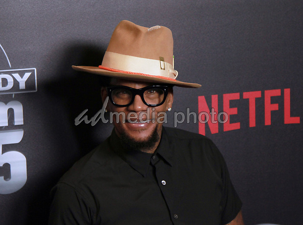 """10 September 2017 - Beverly Hills, California - D.L. Hughley. Netflix """"Def Comedy Jam 25"""" held at The Beverly Hilton. Photo Credit: Theresa Bouche/AdMedia"""