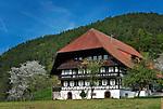 Germany, Baden-Wurttemberg, Schwarzwald: farmhouse near Gutach | Deutschland, Baden-Wuerttemberg, Schwarzwald, Bauernhof bei Gutach