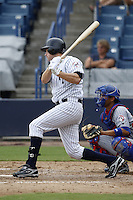 July 10, 2009:  Brad Baisley of the Tampa Yankees during a game at George M. Steinbrenner Field in Tampa, FL.  Tampa is the Florida State League High-A affiliate of the New York Yankees.  Photo By Mike Janes/Four Seam Images