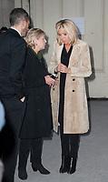 November 10 2017, Paris, France - Brigitte Macron Guest of Paris Photo 2017, at Grand Palais on Avenue du Général Eisenhower in Paris. # LES PEOPLE AU SALON PARIS PHOTO 2017 AU GRAND PALAIS
