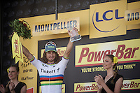 yet another world class win by Peter Sagan (SVK/Tinkoff)<br /> <br /> stage 11: Carcassonne - Montpellier (162km)<br /> 103rd Tour de France 2016