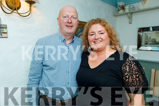 Seamus and Fidelma Landers enjoying the evening in Cassidys on Saturday.