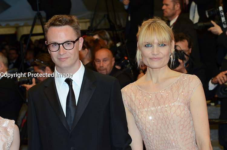 Nicolas Winding Refn, Elle Fanning attends 'The Neon Demon' Premiere during the 69th annual Cannes Film Festival at the Palais des Festivals on May 20, 2016 in Cannes, France.