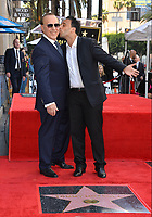 LOS ANGELES, CA. October 10, 2019: Tommy Mottola & Michael Mottola at the Hollywood Walk of Fame Star Ceremony honoring Tommy Mottola.<br /> Pictures: Paul Smith/Featureflash