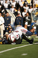 2 December 2006: Ekom Udofia during Stanford's 26-17 loss to Cal in the 109th Big Game at Memorial Stadium in Berkeley, CA.