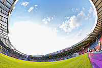 July 25, 2012..View of Scotland's National Football Stadium. USA vs France Football match during 2012 Olympic Games at Hampden Park in Glasgow, England. USA defeat France 4-2 after conceding two goals in the first half of the match...(Credit Image: © Mo Khursheed/TFV Media)