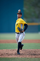 Pittsburgh Pirates pitcher Luis Arrieta (51) delivers a pitch during an Instructional League intrasquad black and gold game on October 11, 2017 at Pirate City in Bradenton, Florida.  (Mike Janes/Four Seam Images)