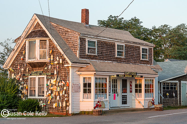 Capt Cass Seafood in Orleans, Cape Cod, Massachusetts, USA