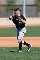CJ Lang -  Chicago White Sox - 2009 spring training.Photo by:  Bill Mitchell/Four Seam Images