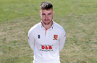 Josh Rymell of Essex poses for a portrait during the Essex CCC Press Day at The Cloudfm County Ground on 30th July 2020