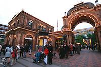 Daenemark, im Vergnügungspark Tivoli in  Kopenhagen