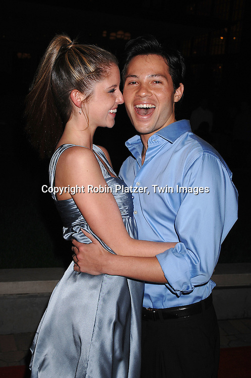 Brittany Underwood and Jason Tam..at The ABC Casino Night party on October 25, 2007 at ..Guastavinos in New York. ..Robin Platzer, Twin Images....212-935-0770