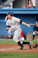 August 15, 2009:  First Baseman Luke Murton of the Staten Island Yankees during a game at Dwyer Stadium in Batavia, NY.  Staten Island is the Short-Season Class-A affiliate of the New York Yankees.  Photo By Mike Janes/Four Seam Images