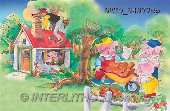 Alfredo, CUTE ANIMALS, puzzle, paintings(BRTO34377cp,#AC#) illustrations, pinturas, rompe cabeza