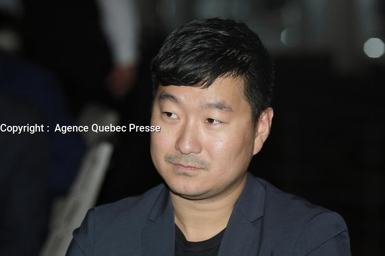 Ethan Song - Président et cofondateur - Frank & Oak,<br /> Lundi 6 juin 2016<br /> <br /> PHOTO : Pierre Roussel -  Agence Quebec Presse