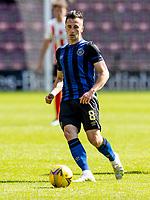 17th July 2021; Tynecastle Park, Edinburgh, Scotland;Pre Season Friendly Football, Heart of Midlothian versus Sunderland; Aaron McEneff of Hearts