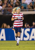 Julie Johnston.  The USWNT defeated Scotland, 4-1, during a friendly at EverBank Field in Jacksonville, Florida.