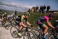 Jessica Allen (AUS/Mitchelton-Scott)<br /> <br /> 5th Strade Bianche WE (1.WWT)<br /> One day race from Siena to Siena (136km)<br /> <br /> ©JojoHarper for kramon