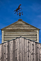 Europe/France/Picardie/80/Somme/Baie de Somme/ St-Quentin-en-Tourmont: Girouette du  Ranch de l' Espace Equestre Henson-Marquenterre