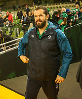 Saturday 17th November 2018 | Ireland vs New Zealand<br /> <br /> Andy Farrell during 2018 Guinness Series between Ireland and Argentina at the Aviva Stadium, Lansdowne Road, Dublin, Ireland. Photo by John Dickson / DICKSONDIGITAL
