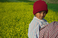 Child at Khokana Village Kathmandu Valley, Nepal
