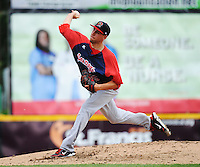 Portland Sea Dogs pitcher Matt Barnes (35) during game against the Trenton Thunder at ARM & HAMMER Park on June 23, 2013 in Trenton, NJ.  Portland defeated Trenton 11-0.  (Tomasso DeRosa/Four Seam Images)