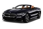 2019 BMW 8-Series - 2 Door Convertible Angular Front stock photos of front three quarter view