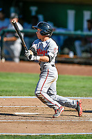 Ty Blankmeyer (11) of the Billings Mustangs at bat against the Ogden Raptors in Pioneer League action at Lindquist Field on August 14, 2016 in Ogden, Utah. Ogden defeated Billings 15-9. (Stephen Smith/Four Seam Images)