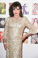Joan Collins<br /> arrives for the Vogue 100 Gala Dinner held in Kensington Gardens, London.<br /> <br /> <br /> ©Ash Knotek  D3122  23/05/2016