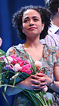 Lauren Ridloff during the Broadway opening night performance Curtain Call for 'Children of a Lesser God' at Studio 54 Theatre on April 11, 2018 in New York City.