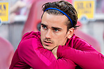 Antoine Griezmann of Atletico de Madrid during the La Liga match between Atletico de Madrid vs Osasuna at the Estadio Vicente Calderon on 15 April 2017 in Madrid, Spain. Photo by Diego Gonzalez Souto / Power Sport Images