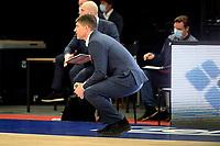 10-04-2021: Basketbal: Donar Groningen v ZZ Leiden: Groningen, Donar coach Ivan Rudez