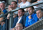 St Johnstone v Bradford City…19.07.16  McDiarmid Park, Perth. Pre-season Friendly<br />Tommy Wright sand Steven MacLean watch from the stands<br />Picture by Graeme Hart.<br />Copyright Perthshire Picture Agency<br />Tel: 01738 623350  Mobile: 07990 594431