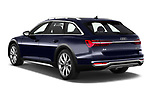 Car pictures of rear three quarter view of 2021 Audi A6-Allroad Premium-Plus 5 Door Wagon Angular Rear
