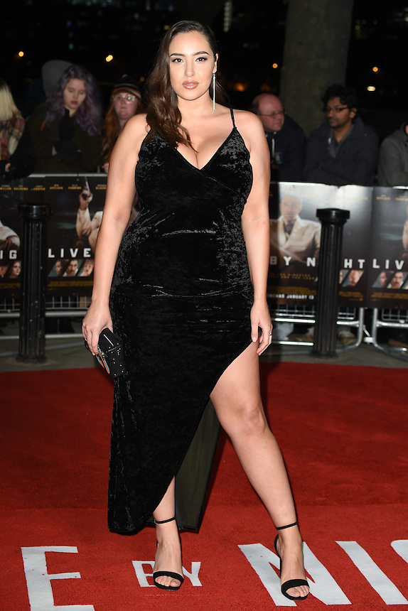 "Jada Sezer<br /> at the ""Live by Night"" premiere at BFI South Bank, London.<br /> <br /> <br /> ©Ash Knotek  D3217  11/01/2017"